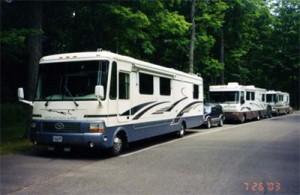 Our motor home caravan