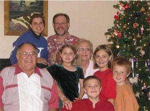 The Curtis Family – Christmas, 2007